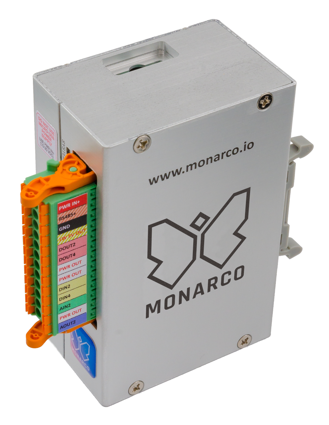 Monarco HAT - Analog and digital I/O, RS-485 and 1-Wire bus